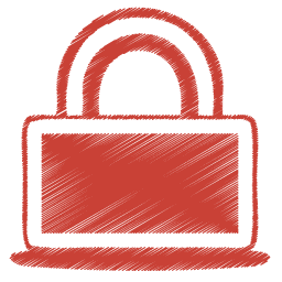 red-lock-icon